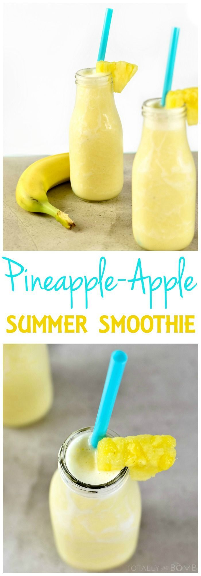 Pineapple-Apple Summer Smoothie