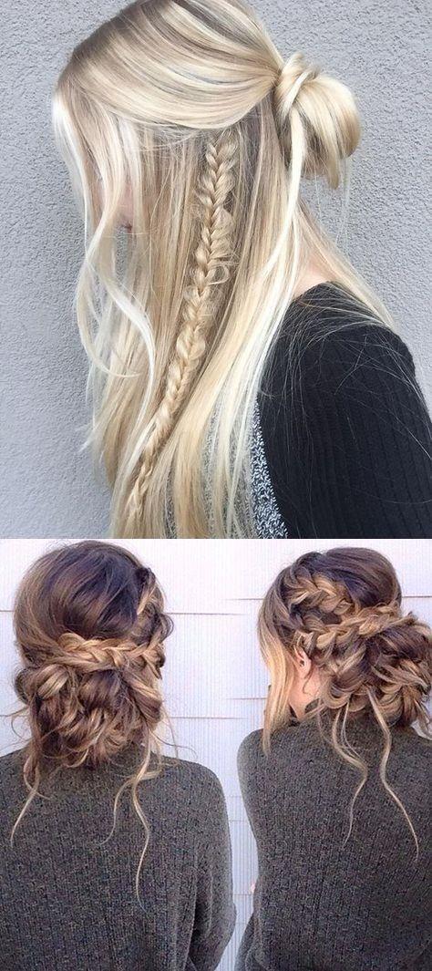 5 Minuten Frisuren Für Mittellange Haare Haare Pinterest