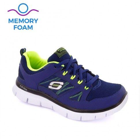 Pantofi sport baieti Flex Advantage Navy - Skechers