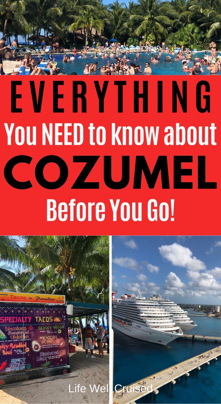 21 Most Recommended Things To Do In Cozumel Cozumel Cruise