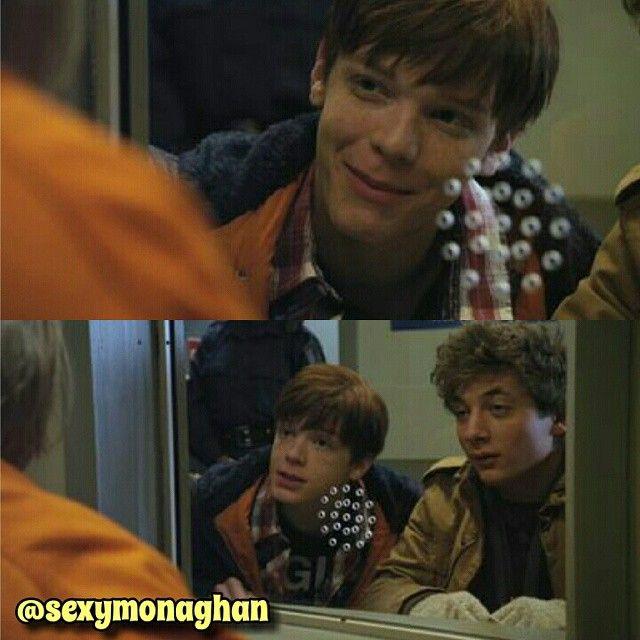 """Cameron as Ian Gallagher shameless season 1 baby monaghan @cameronmonaghan #cameronmonaghan #shameless #iangallagher #gallavich"""
