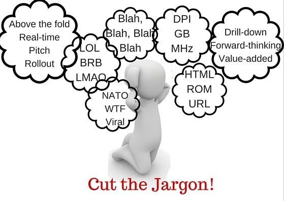 How to avoid confusing your readers with Jargon