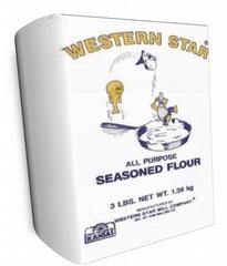 Western Star Seasoned Flour Made In Salina Ks Best Flour For Making Breadings From Fried