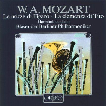 Blaser Der Berliner Philharmoniker - Mozart: Le Nozze Di Figaro/La Clemenza Di Tito