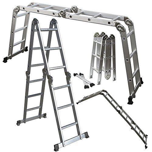 USE!  Scaffold Ladder Heavy Duty Giant Aluminum 12