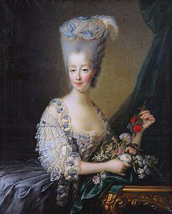 María Teresa de Saboya -María Teresa de Saboya (Turín (Reino de Cerdeña), 31 de enero de 1756 - Graz (Imperio austríaco), 2 de junio de 1805), princesa de Saboya por nacimiento y condesa de Artois por su matrimonio con Carlos X de Francia.