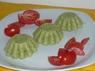 Sformatino freddo zucchine e caprino