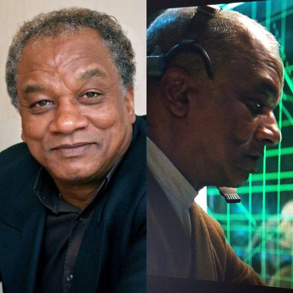 Jeffery Kissoon portrays Rear Admiral Guich in Star Wars: Episode VII The Force Awakens. Also appeared in Space: 1999.