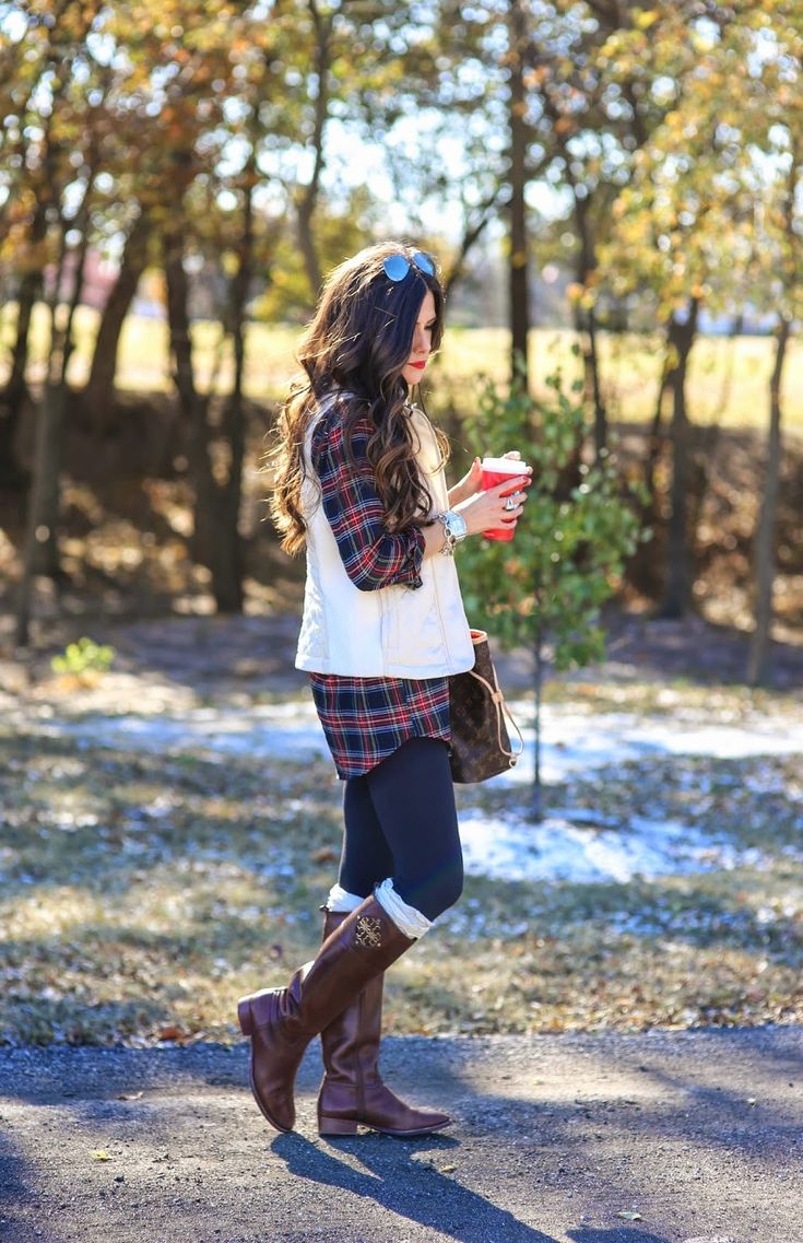 Womens Flannel Jeans