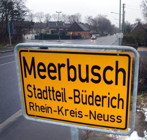 Meerbusch-Büderich: Doppel-Posse um Ortsschild | Düsseldorf | EXPRESS