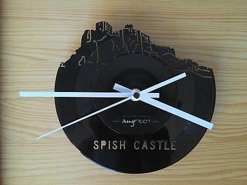 anynOOn / Spish Castle - vinylové hodiny