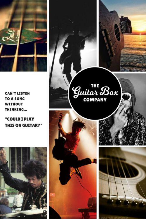 The Guitar Box Company Brand Moodboard   byRosanna