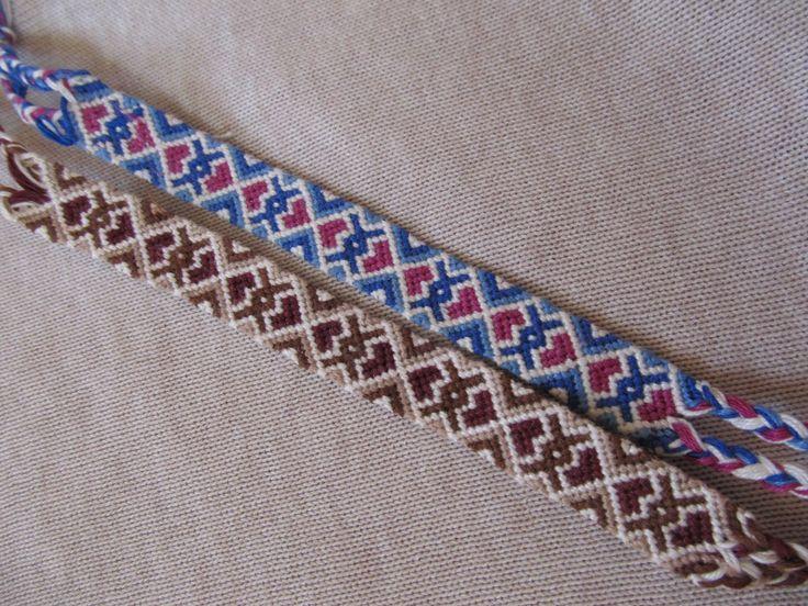heart patterned friendship bracelets