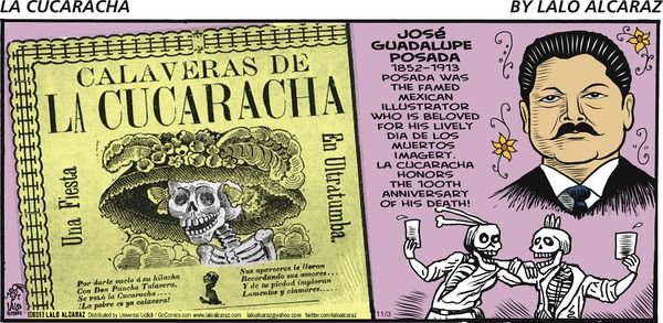 La cucaracha comic name