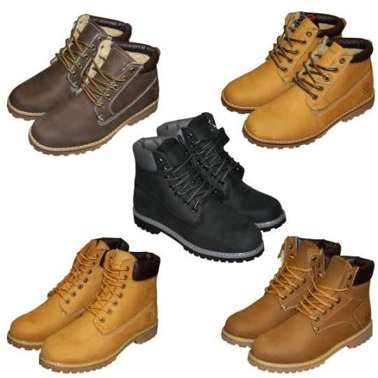 Мужская молодежная зимняя обувь