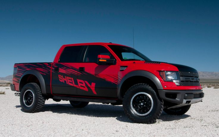 New Shelby Raptor. I think this is the third Shelby truck ever