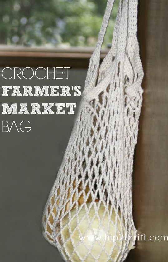 How to Crochet a Bag: Market Tote - Craftaholics Anonymous®