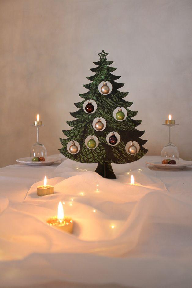 via en.dawanda.com Christmas Decorations – Kerstboom versiering met kerstballen – a unique product by KoelnSchaetze on DaWanda