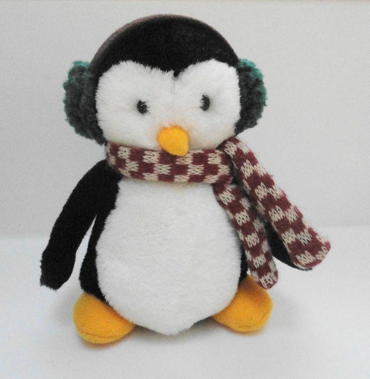 "HUGSY 6"" Debbie Mumm McFinn from Mummford Plush Penguin Family of Joey's Friend"