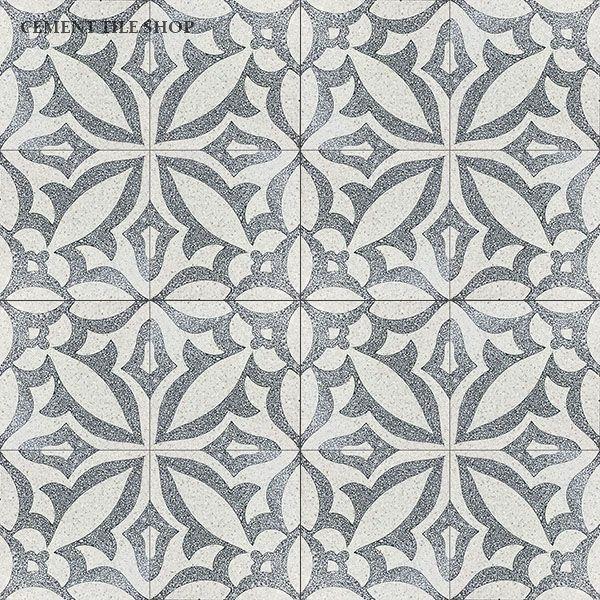Cement Tile Shop - Encaustic Cement Tile Zebra Terrazzo