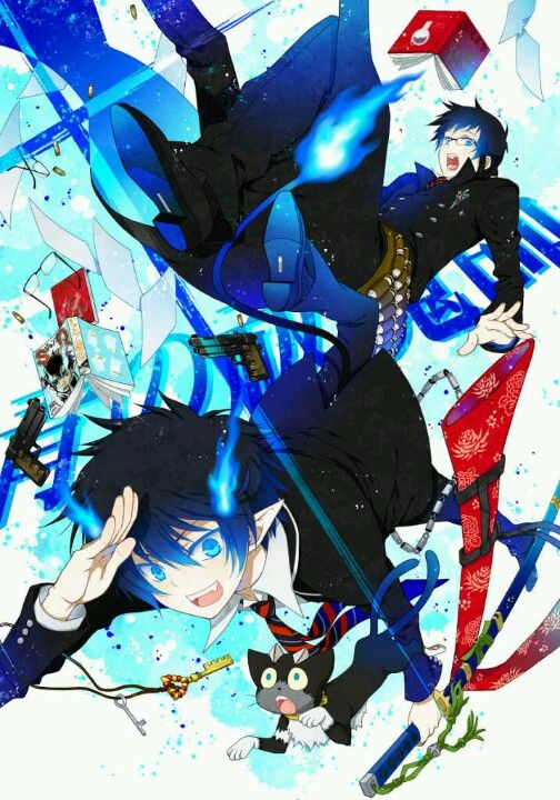 Pin By Laura On Blue Exorcist Pinterest Blue Exorcist Ao No