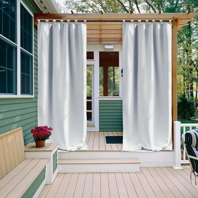 rideaux porche rideaux