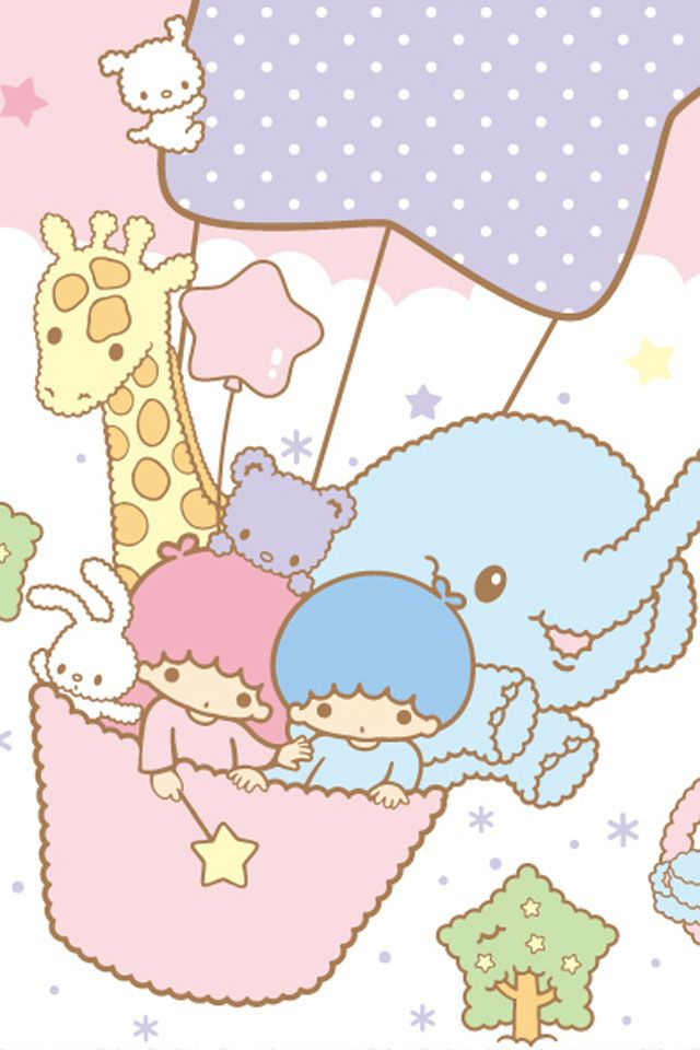 Not Hello Kitty, but Sanrio so it's kinda the same...lol Little Twin Stars...love the elephant!
