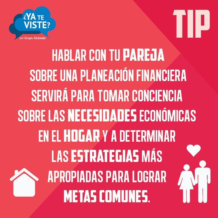 Tip de #finanzas en pareja.