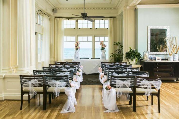 Moana Surfrider, A Westin Resort - indoor wedding