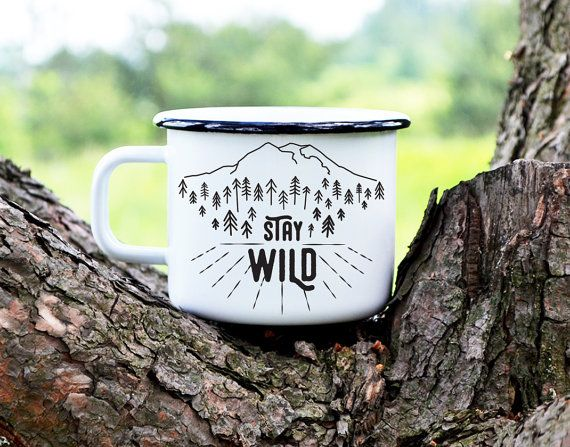 Traditional polish white enamel mug with black rim and white inside. Designed and handpainted by nokk. Illustrations have been designed and handpainted by us on the high quallity enamel tableware. Our mugs come from polish factory that produced mugs for over 100 years. Founded in 1907 is the most famous factory of enamel tableware. Camping life, travel adventures, passion for coffee and whole wild things are inspiring for us and thats why welike to share our passion and provide you high…