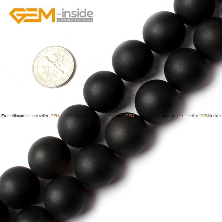 Natural Round Black Brazil Matte Agates Stone Beads For Jewelry Making 15inches DIY Jewellery FreeShipping Wholesale Gem-inside
