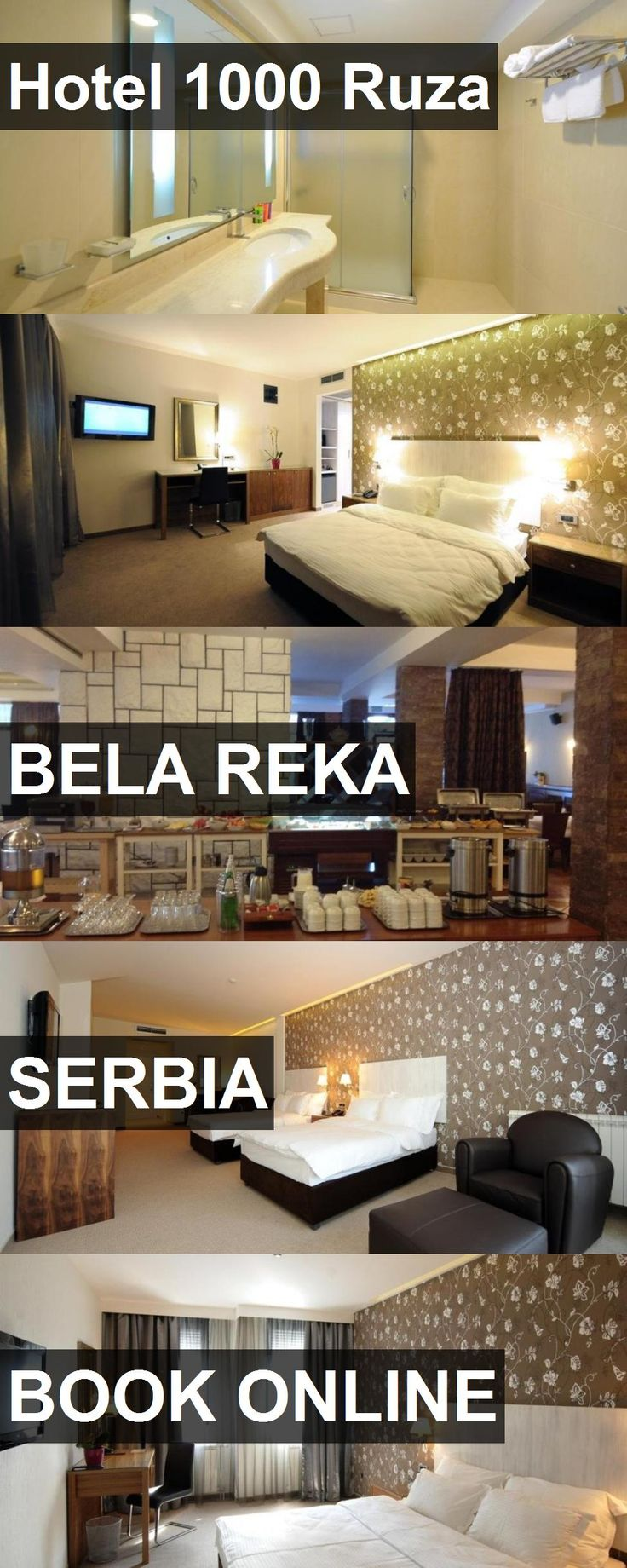 Hotel Hotel 1000 Ruza in Bela Reka, Serbia. For more information, photos, reviews and best prices please follow the link. #Serbia #BelaReka #Hotel1000Ruza #hotel #travel #vacation