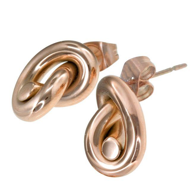 Ingnell Jewellery - Ella stud rose. Stainless steel. www.ingnelljewellery.com