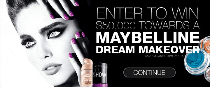 American Beauty Sweeps Contest!!! Win a $50,000 Maybelline Dream Makeover!: http://bdghostriderz.com/beautycontest/?59682