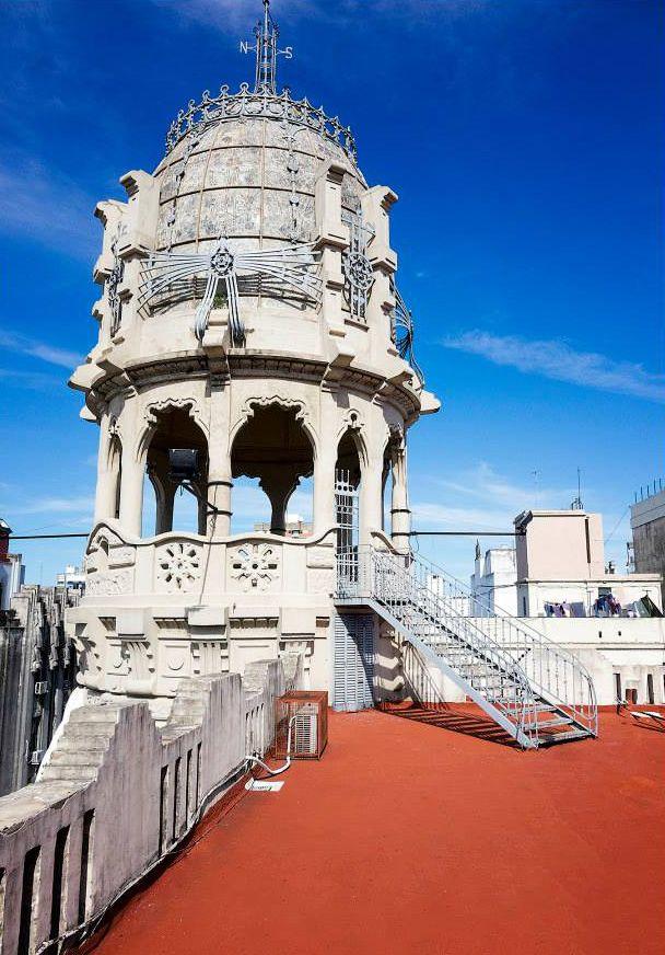Rosario, Argentina. (It's a beautiful building named Palacio Cabanellas.)