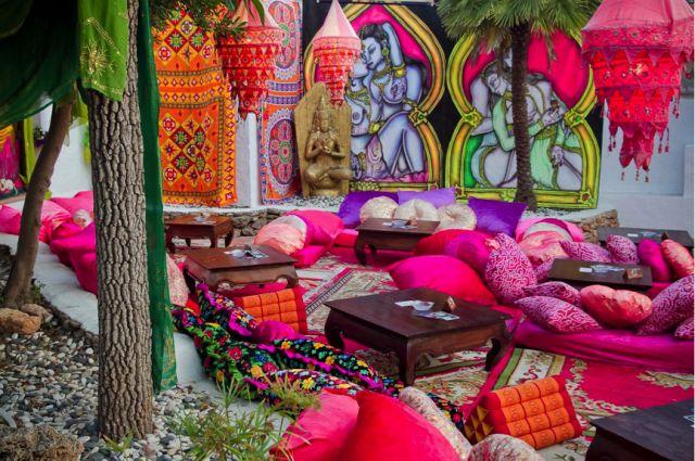 Las Dalias hippy market in Ibiza