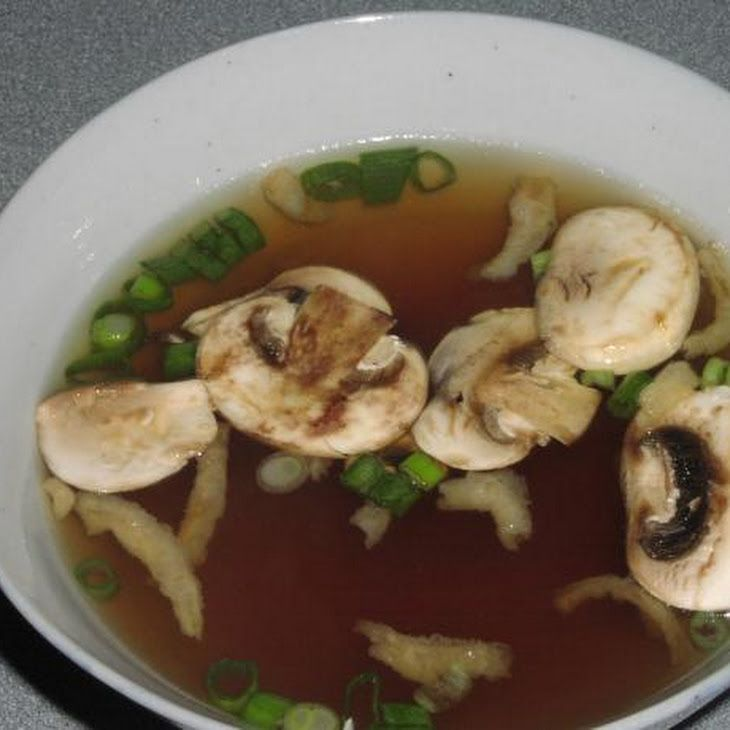 My love for japanese food is maybe a tad ridic. Miyabi Japanese Onion Soup Recipe: