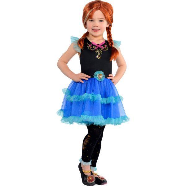 Girls Anna Tutu Dress - Frozen