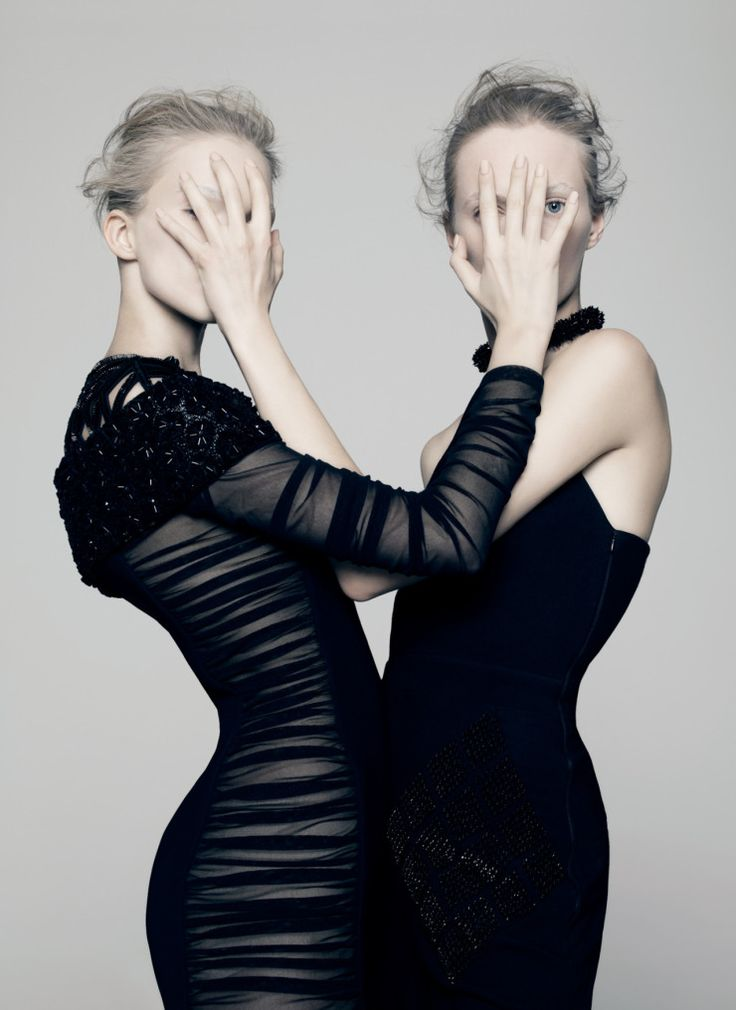 Sasha Luss, Daria Strokous by Pierre Debusschere for V Magazine #94 Spring 2015