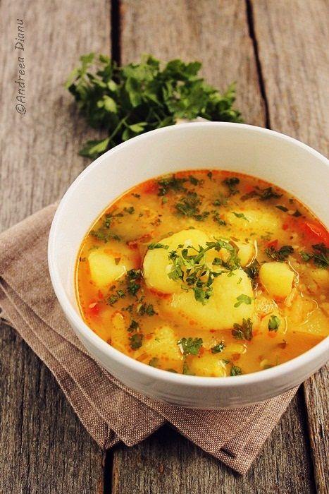 Ciorba de legume cu orez - Pasiune pentru bucatarie- Retete culinare