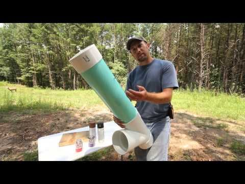 How to Make a Homemade Deer Feeder - YouTube