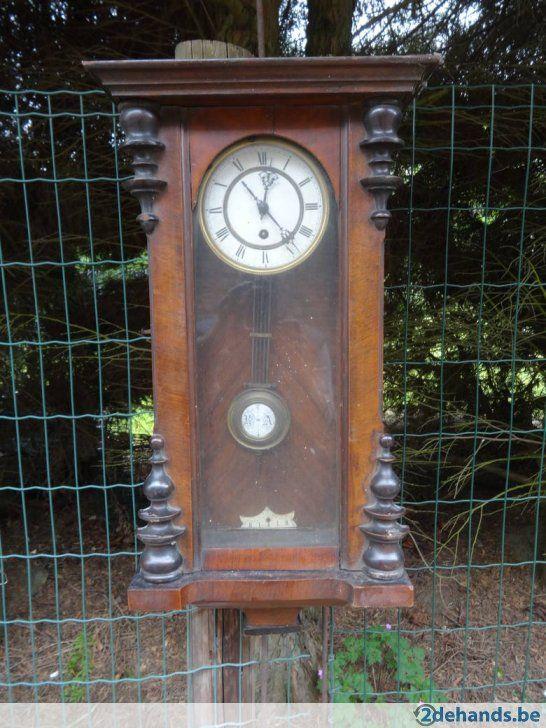 Oude houten klok - Te koop in Putte Beerzel
