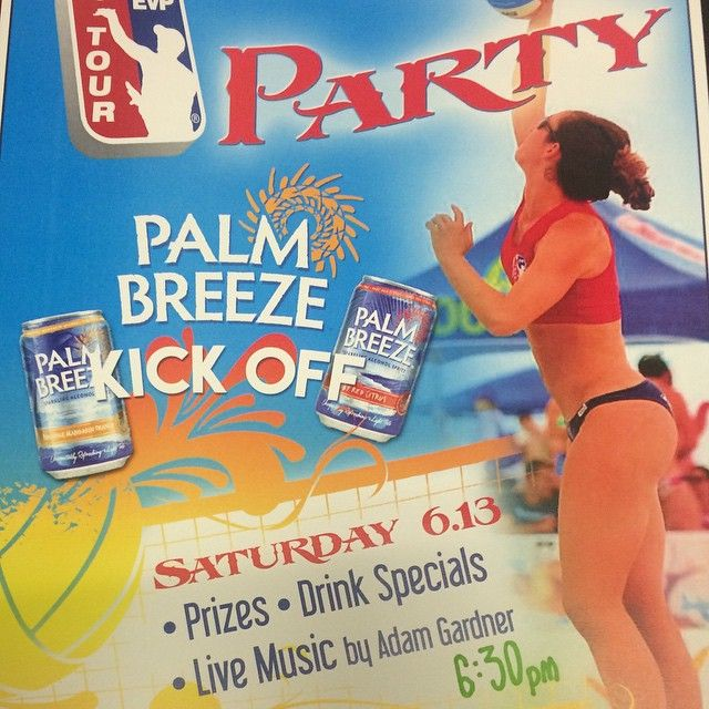 EVP Tour after party event at Aunt Chiladas, on Saturday, at 6:30pm, sponsored by Palm Breezes, the new Grapefruit Beer that taste amazing. Come down and meet the EVP pros and enjoy a great party.