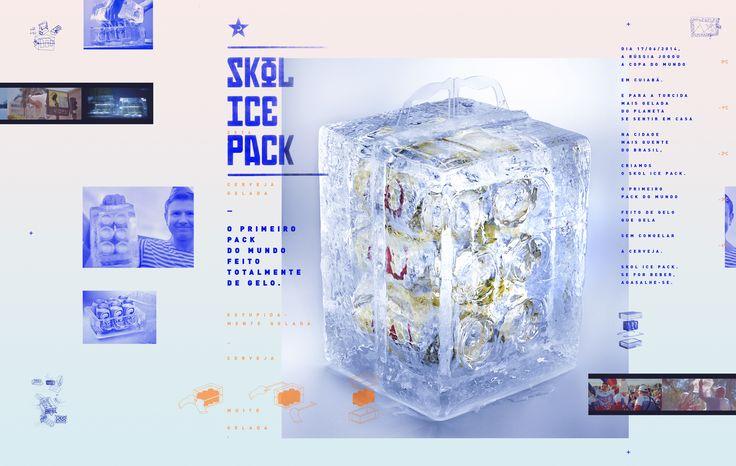 Skol Ice Pack