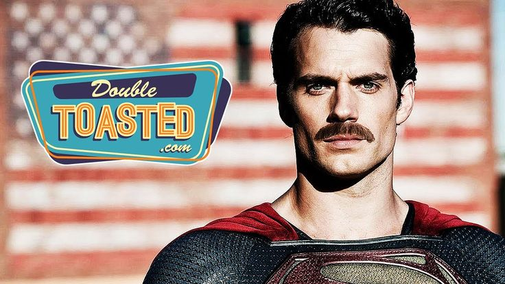 "Superman (Henry Cavill)'s Mustache To Be Digitally Removed in ""Justice League"" - Double Toasted Discussion (formerly Spill.com)"