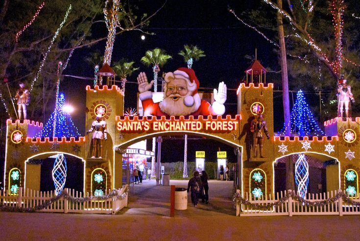 The biggest holiday-themed amusement park, with millions of lights and over 100 rides, games, and attractions, is right here in Florida! In Miami until January 8, 5:00-12