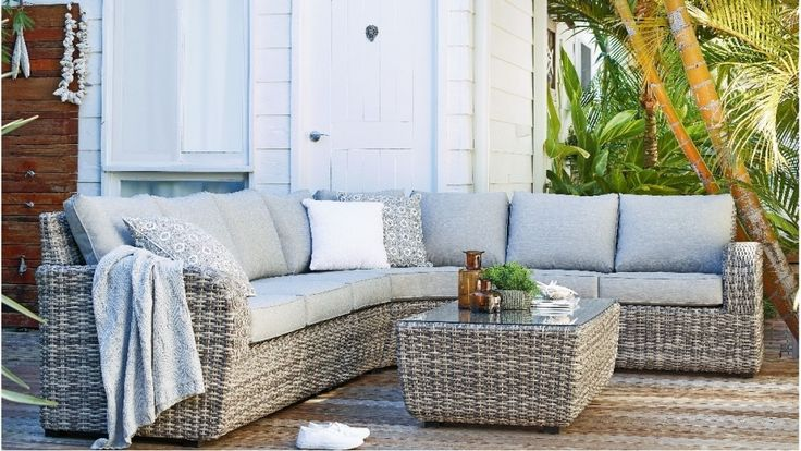 Seaford Modular Outdoor Lounge Suite - Outdoor Living - Furniture, Outdoor & BBQs | Harvey Norman Australia