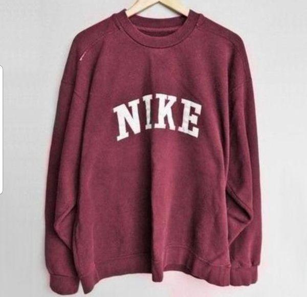 Nike Casual Womens Long Sleeve Sweater For Sale In Cartersville Ga Offerup In 2020 Vintage Nike Sweatshirt Nike Shirts Women Womens Long Sleeve Shirts