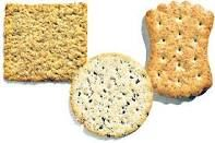 Crackers and bread sticks