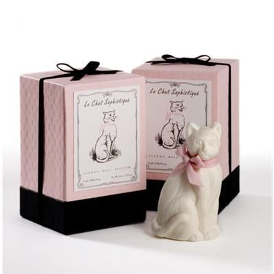 Novelty Soap | Decorative Soap | Animal Soaps | Cat | French-Milled | Gianna Rose Atelier®